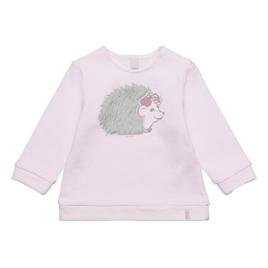 ESPRIT  Baby Girls Sweatshirt pastel pink