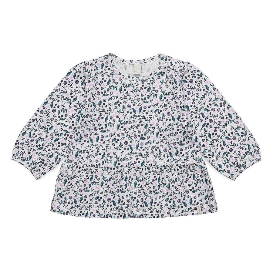 ESPRIT Girl koszulka z długim rękawem z białego.