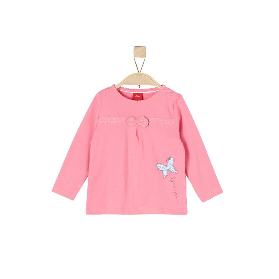 s.Oliver Girl camicia manica lunga s rosa