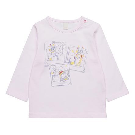ESPRIT Girl s Shirt met lange mouwen lichtroze