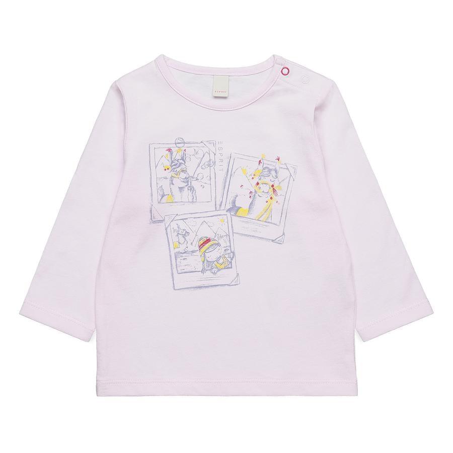 ESPRIT Girls langærmet skjorte light pink