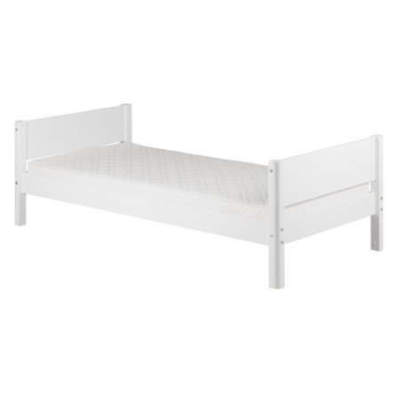 flexa einzelbett white 90 x 200 cm wei. Black Bedroom Furniture Sets. Home Design Ideas