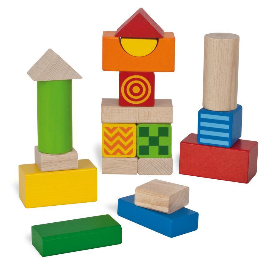 HEROS Dětské kostky na stavění