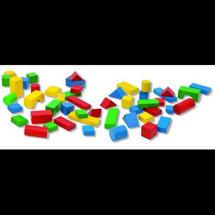 HEROS Babybox med 50 färgglada klossar*