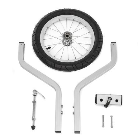 """Qeridoo® 14"""" Joggerrad mit Gabelsystem für Zweisitzer"""