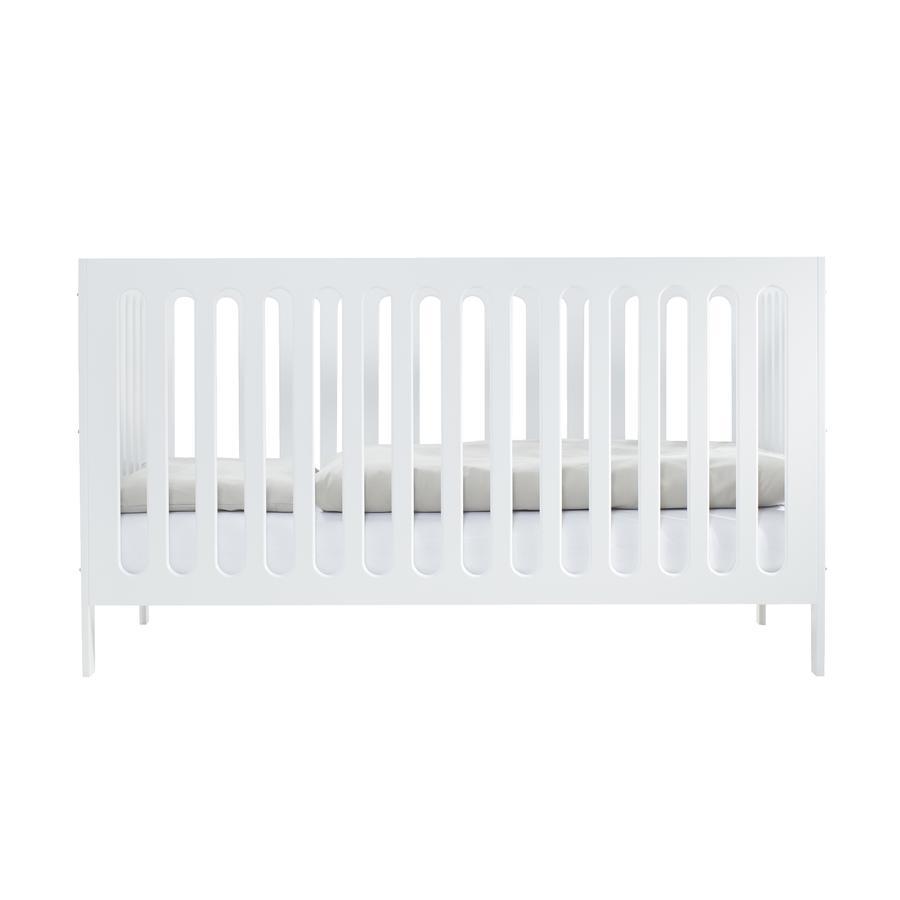 JULIUS ZÖLLNER Kinderbett Merle 70 x 140 cm weiß lackiert