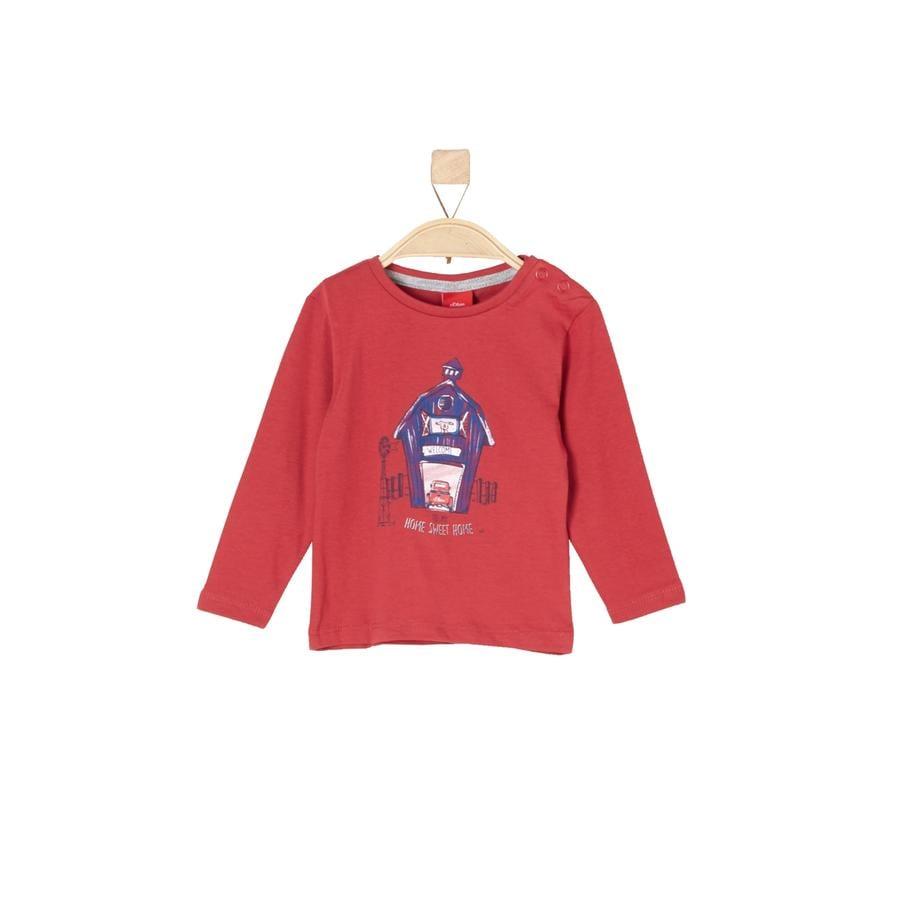 s.Oliver Boys Koszula z długim rękawem czerwony