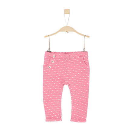 s.Oliver Girl s jogging pants fioletowo-różowa dzianina