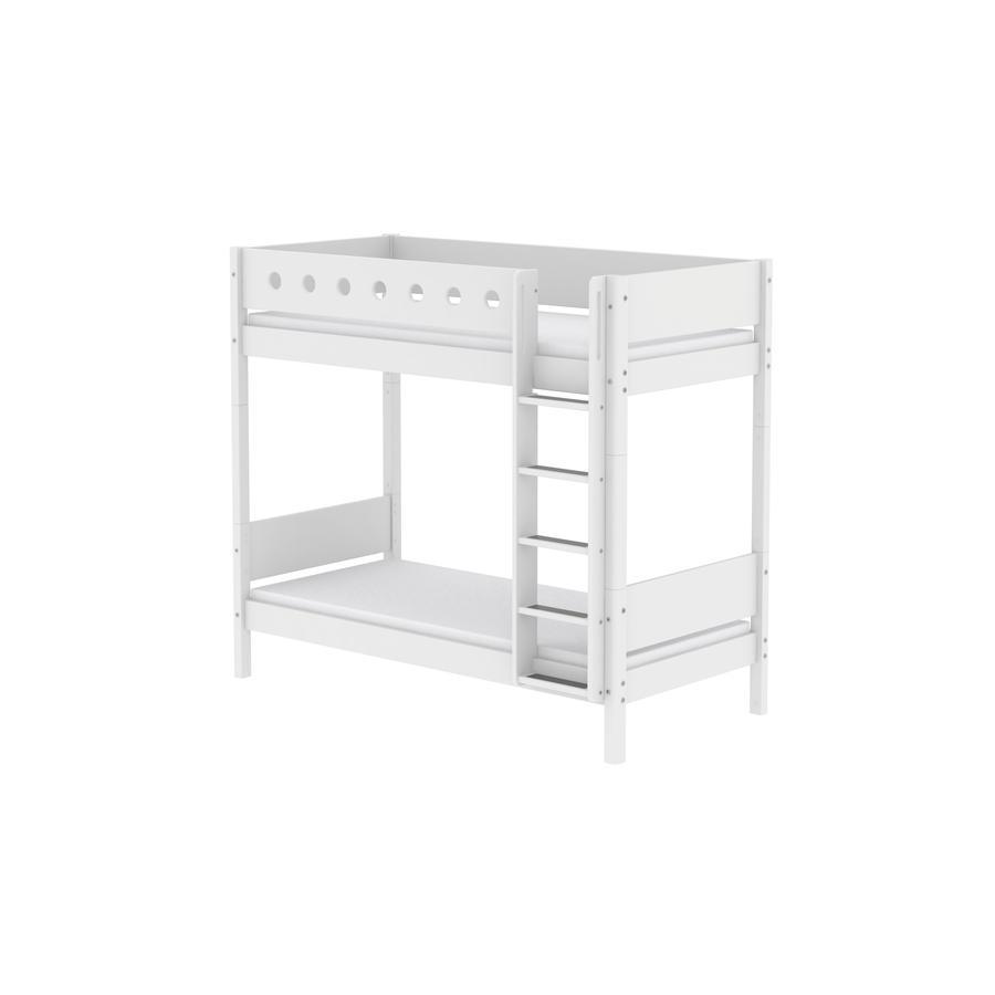 FLEXA Maxi Etagenbett White 90 x 200 cm weiß / weiß