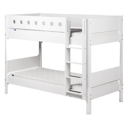 FLEXA Etagenbett White 90 x 200 cm weiß / weiß