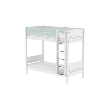FLEXA Maxi Etagenbett White 90 x 200 cm weiß / mintgrün