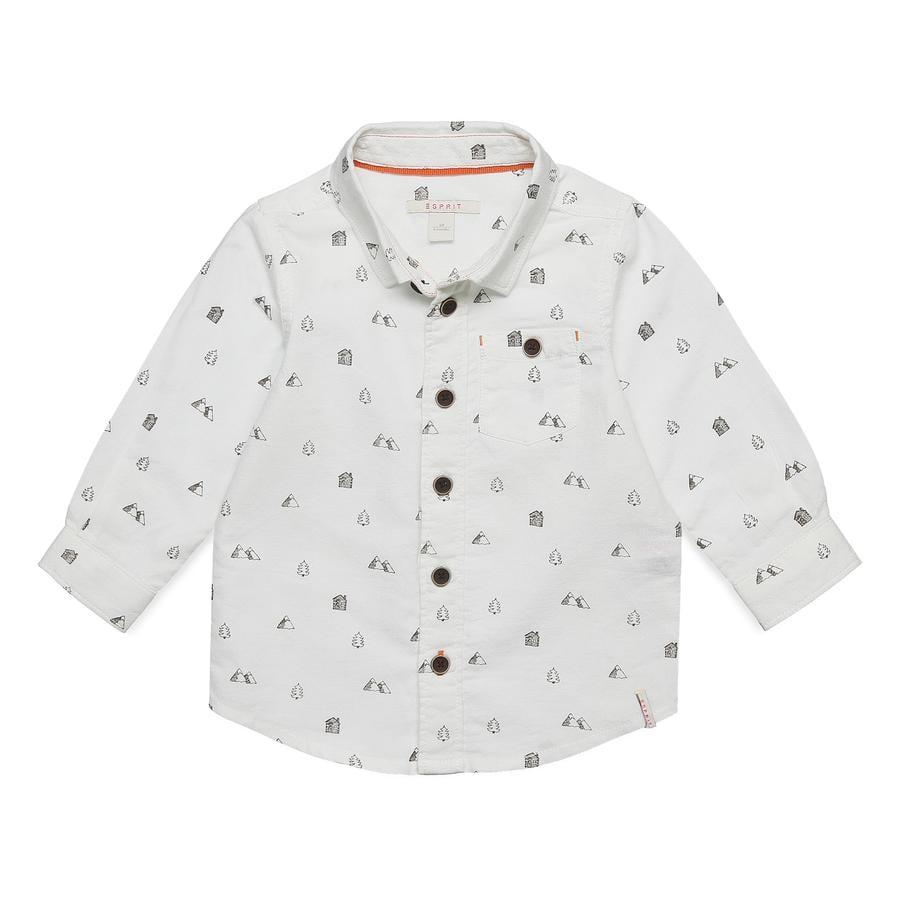 ESPRIT Boys Koszula z białej koszuli