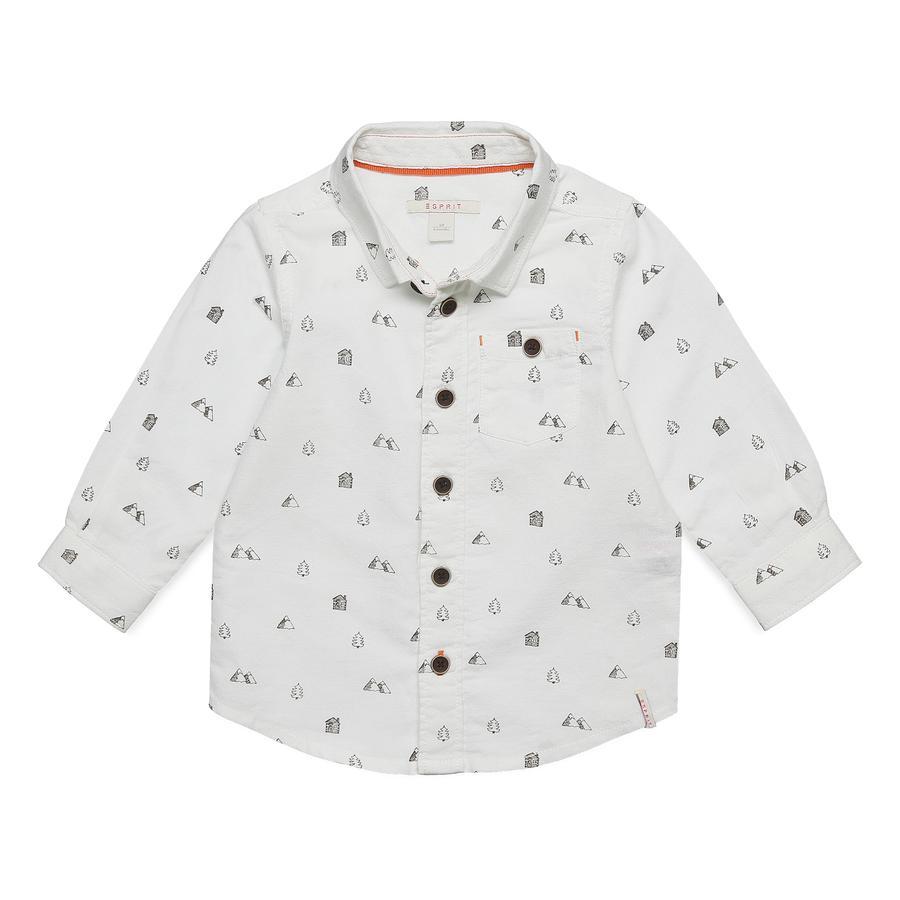 ESPRIT Boys Shirt gebroken wit
