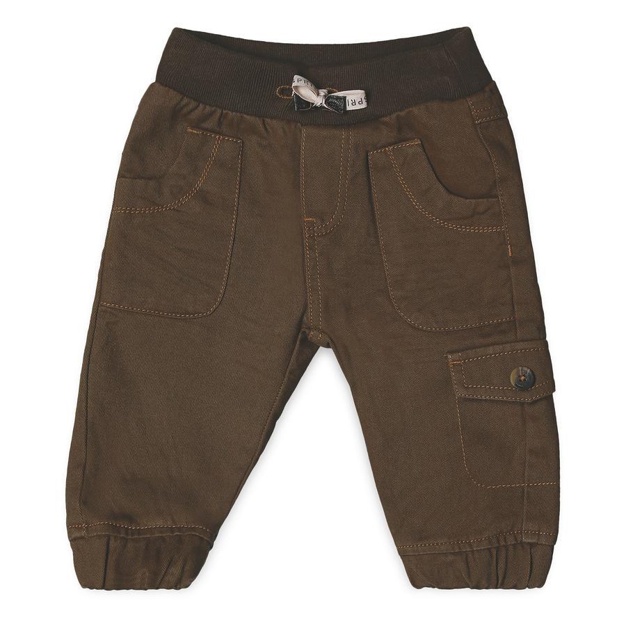 ESPRIT Boys Pantalón marrón oscuro