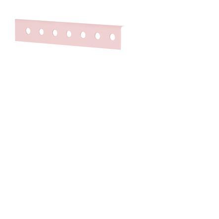 Flexa Hochbett White 90 X 200 Cm Weiß Rosa Babymarktde