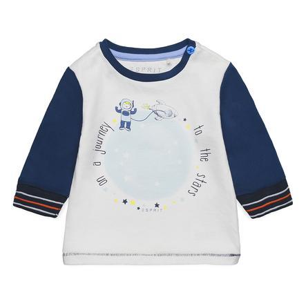 ESPRIT Boys Shirt met lange mouwen middernacht blauw