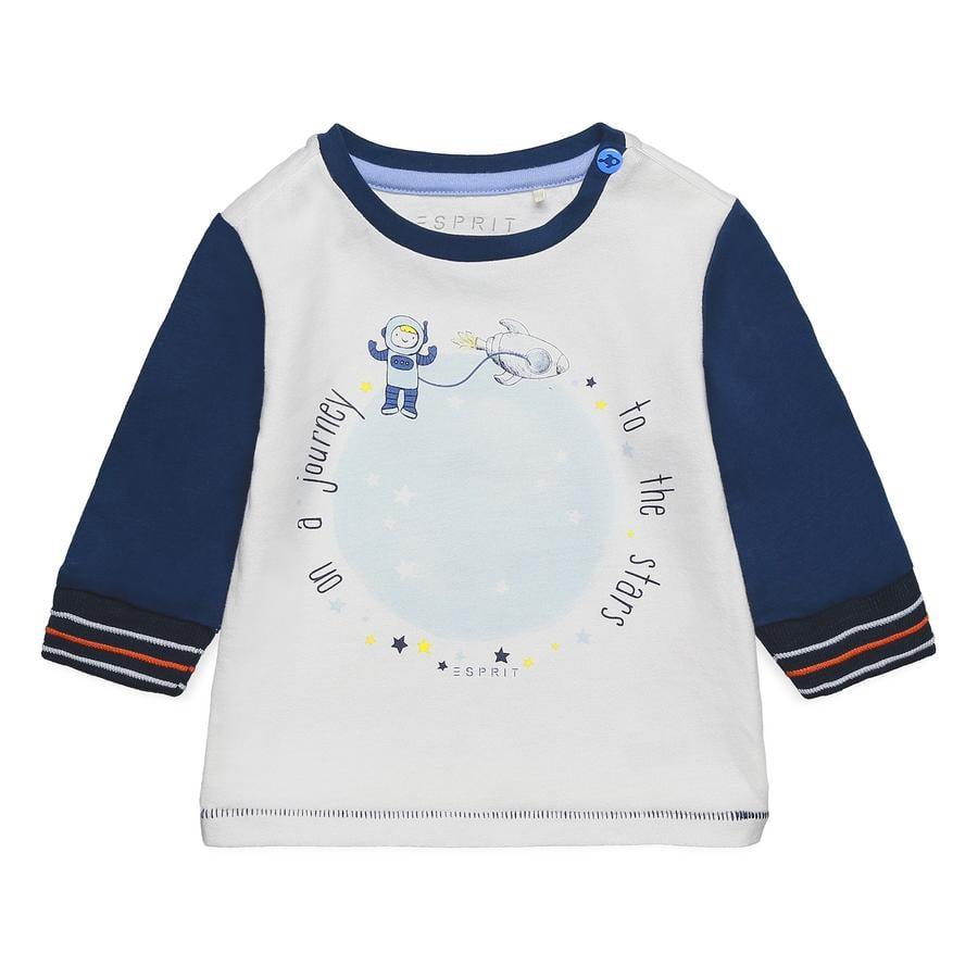 ESPRIT Poikien pitkähihainen paita keskiyön sininen