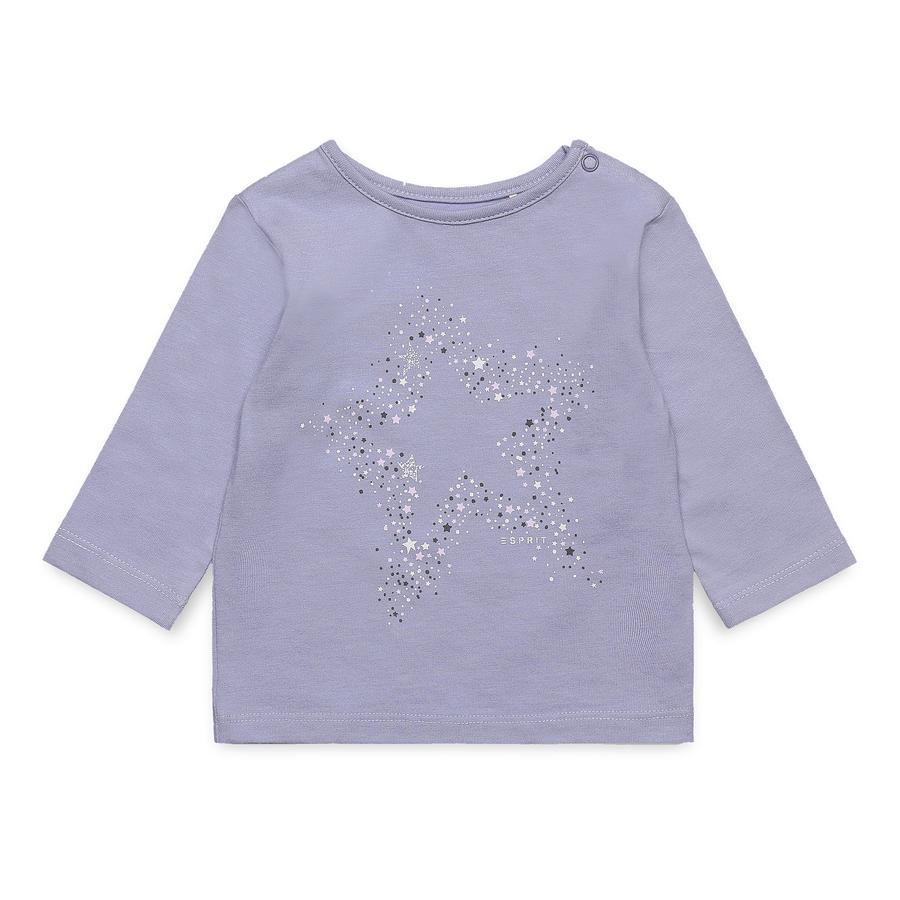 ESPRIT Girl s chemise manches longues gris perle