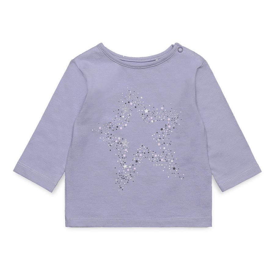 ESPRIT Tyttöjen pitkähihainen paita helmiäisharmaa