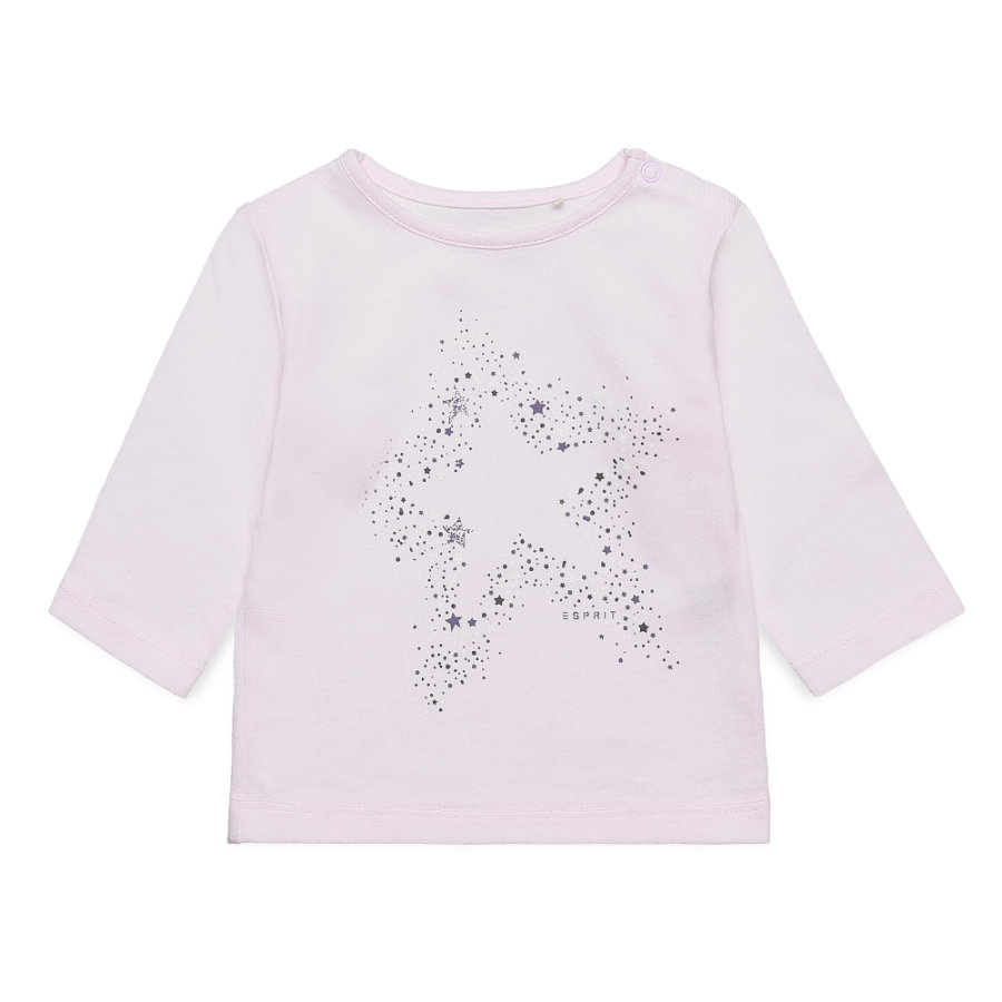 ESPRIT Girls Langarmshirt light pink