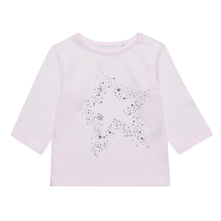 ESPRIT Långärmad tröja rosa