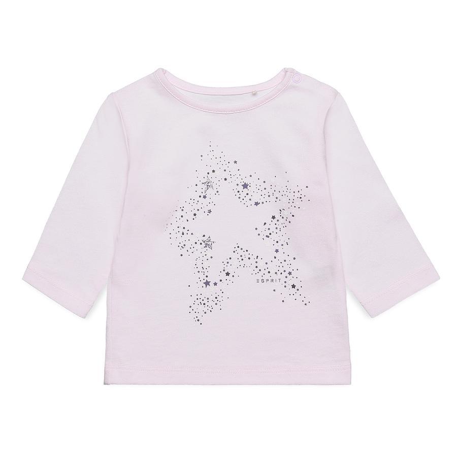 ESPRIT tyttöjen pitkähihainen paita vaaleanpunainen