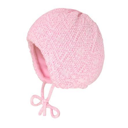maximo Girls Mütze zum Binden rosa