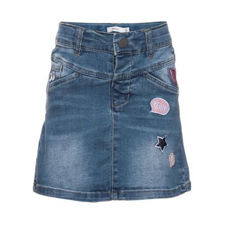 name it Jeans kjol Acille medium blå denim
