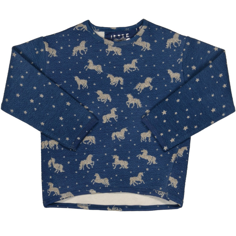 JETTE by STACCATO Girls Boxy-Sweat steel blue aop