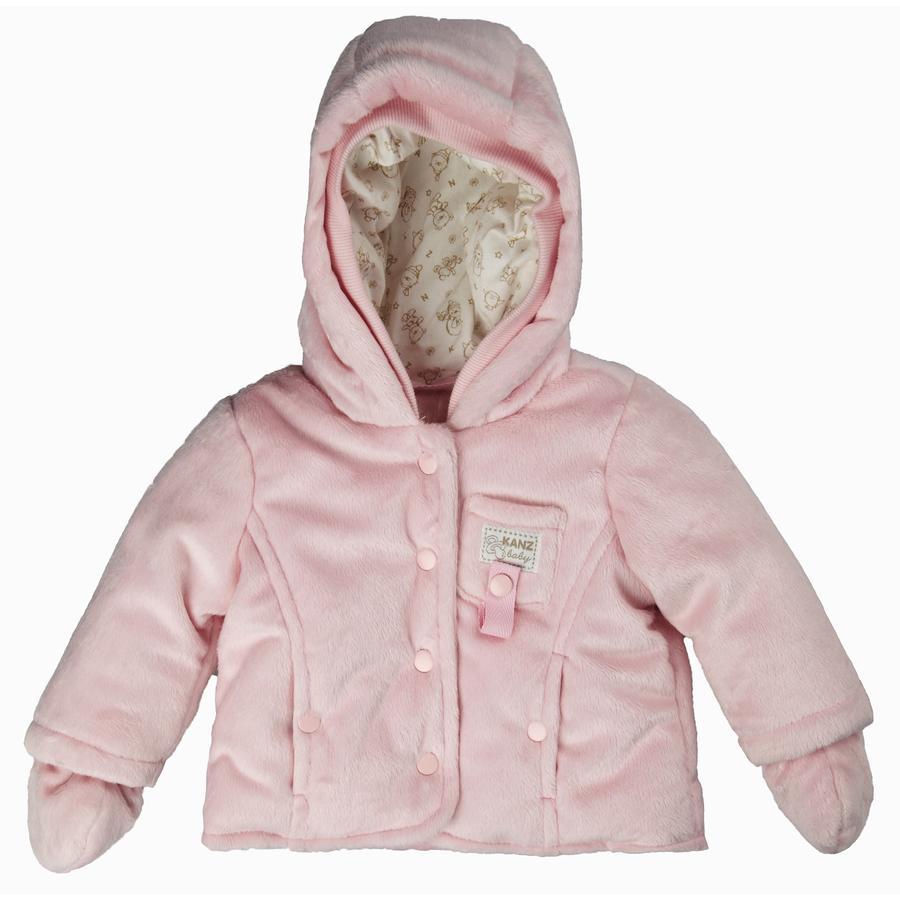 KANZ Teddyplüschjacke, rosa