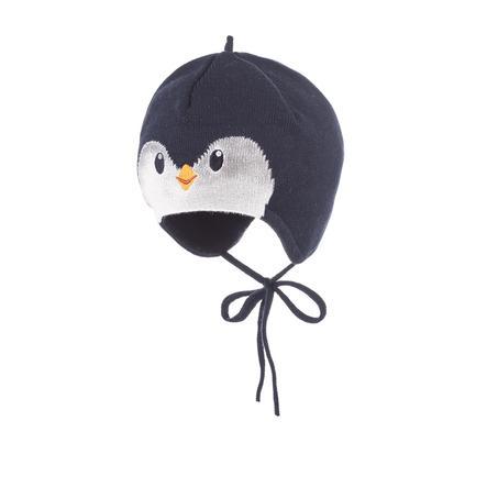 maximo Mütze Pinguin dunkelmarine