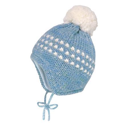 maximo Mütze Grobstrick porzellanmelange
