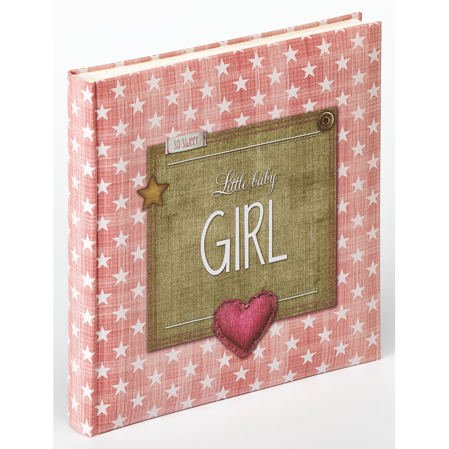 walther design - Baby album Little Baby Girl, rosa antico