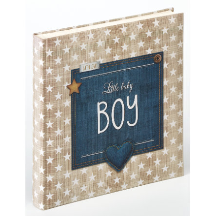 walther design - Baby album Little Baby Boy, marrone