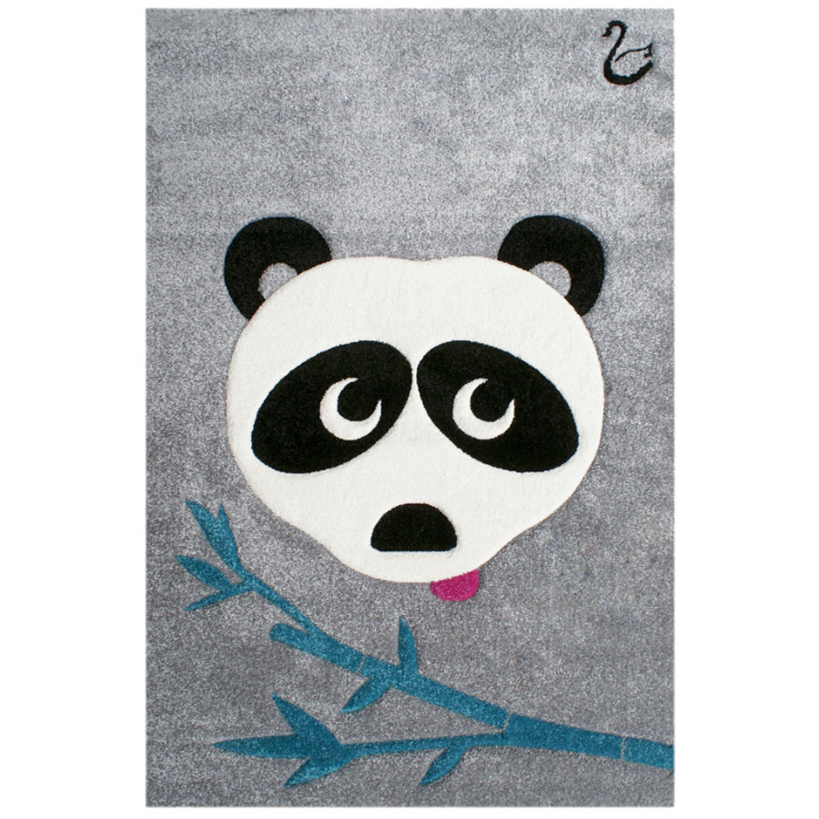 LIVONE Spiel- und Kinderteppich Happy Rugs by Svanhilde Design, Panda Paul, 120 x 180 cm
