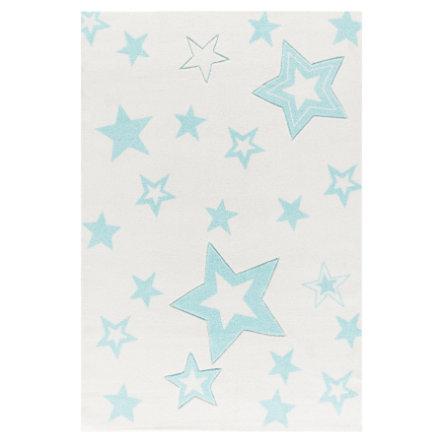 LIVONE Tapijt Happy Rugs Starlight wit/mint, 160 x 230 cm