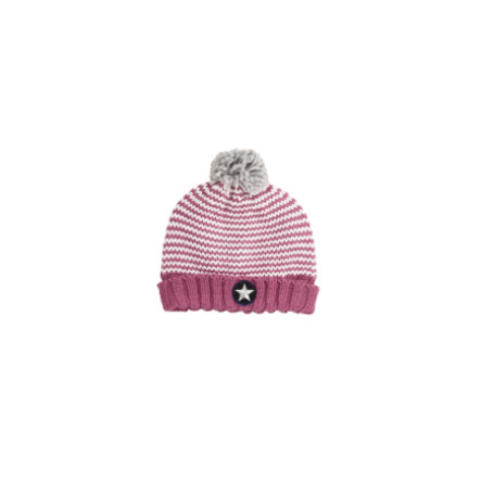 s.Oliver Girls Mütze dark pink multicolored
