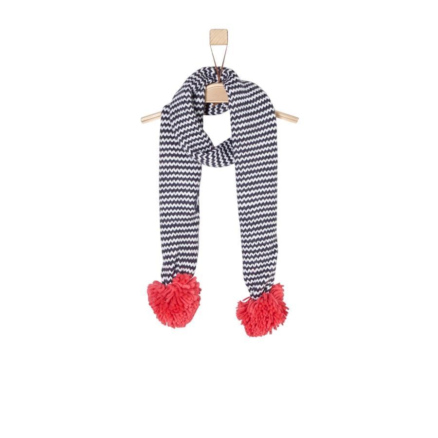 s.Oliver Girls Schal blue multicolored stripes