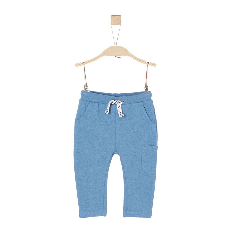 s.Oliver Boys Jogginghose blue melange