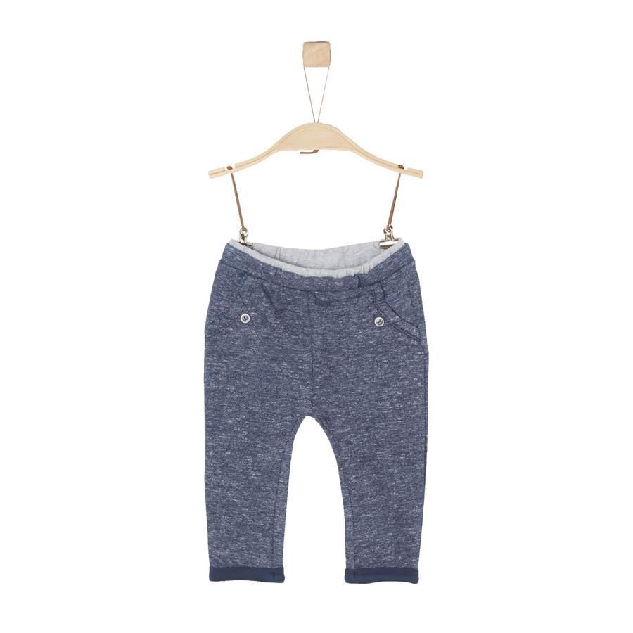 s.Oliver Boys pantalones de chándal azul mélange