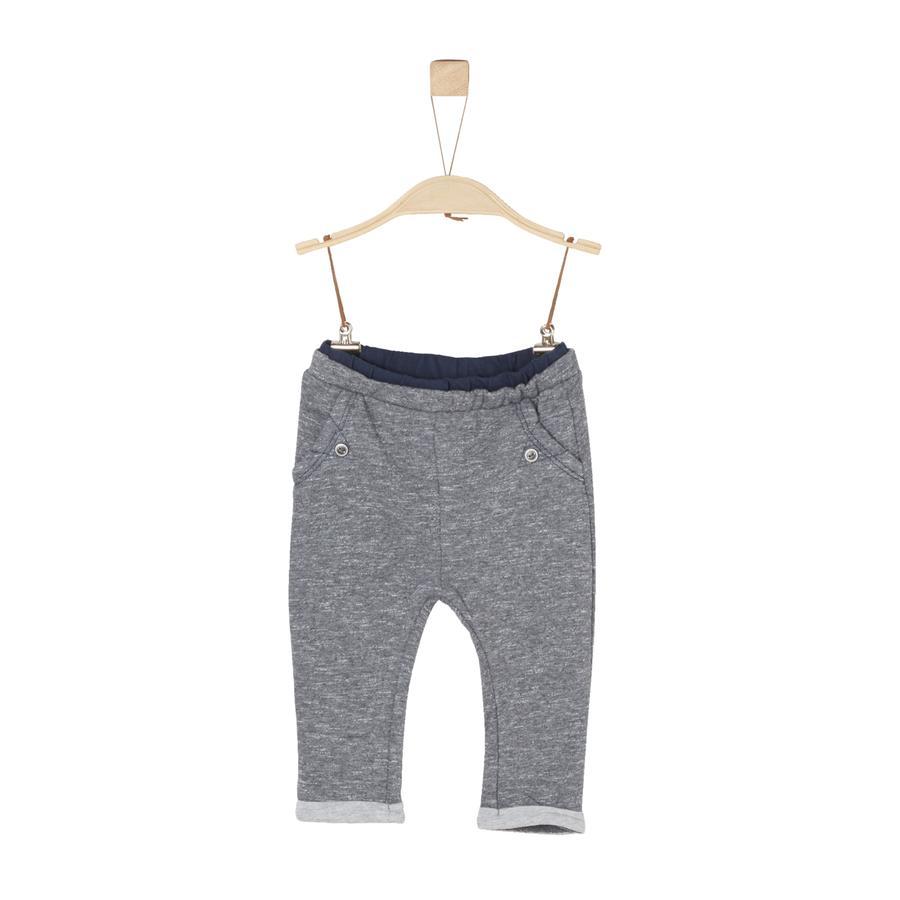 s.Oliver Boys pantalones de chándal gris mélange
