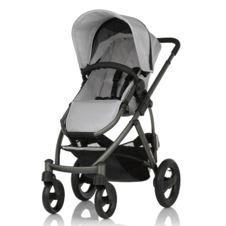 Britax Kinderwagen Smile Silver Slate Chassis