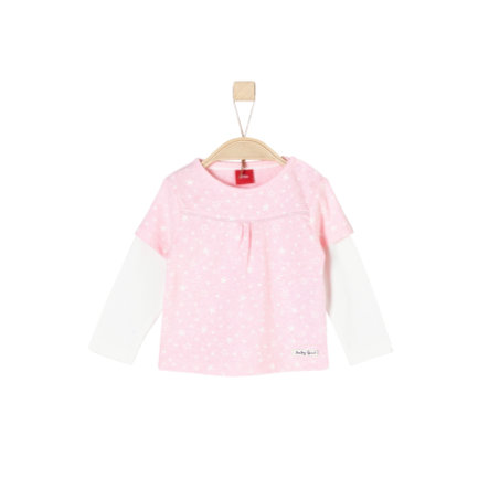 s.Oliver Girls Langærmet shirt light pink