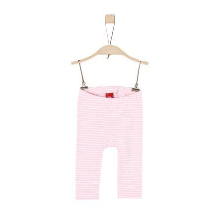 s. Olive r Girls Legíny light růžová stripes