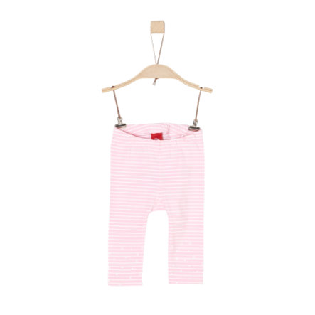 s.Oliver Girl s Leggings rayures rose clair