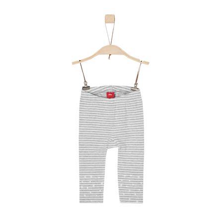 s.Oliver Girls Leggings grey stripes