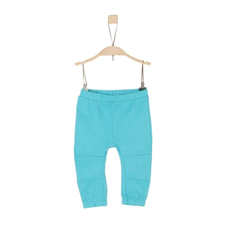 s.Oliver Boys Jogginghose turquoise melange