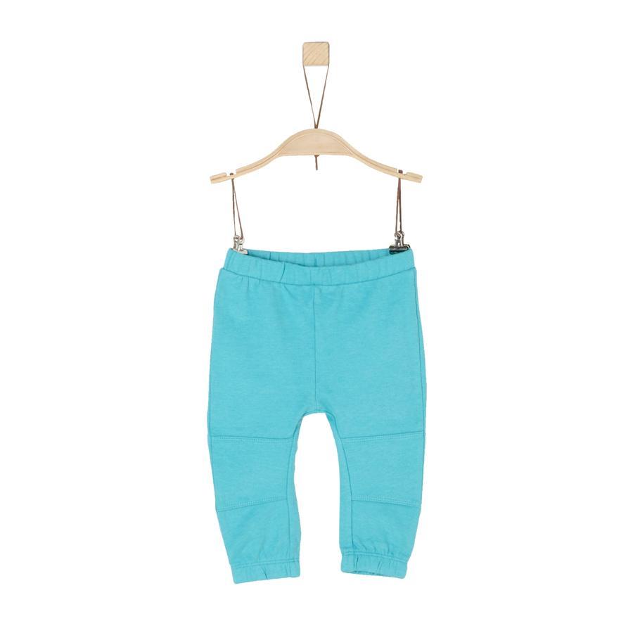 s.Oliver Boys Pantalon de survêtement turquoise melange