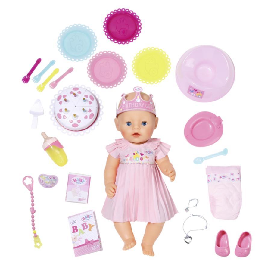 Zapf Creation Baby born® Interaktivní narozeninová panenka 824054