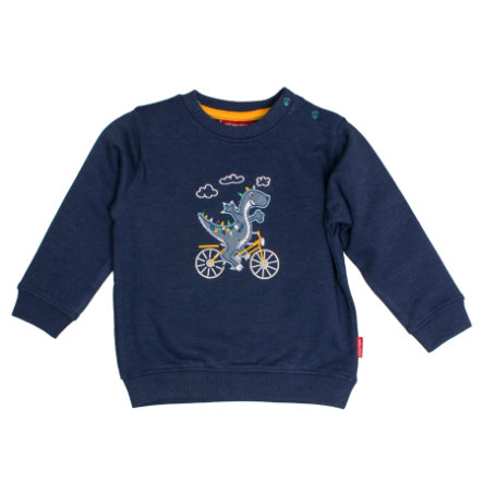 SALT AND PEPPER Boys Sudadera Dino ink azul